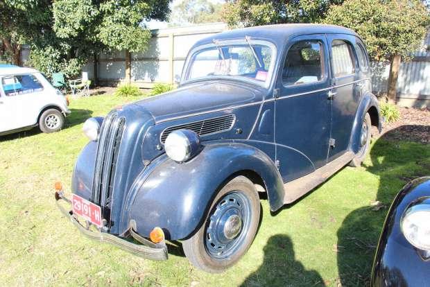 Ford 7W Ten Saloon 1937 года