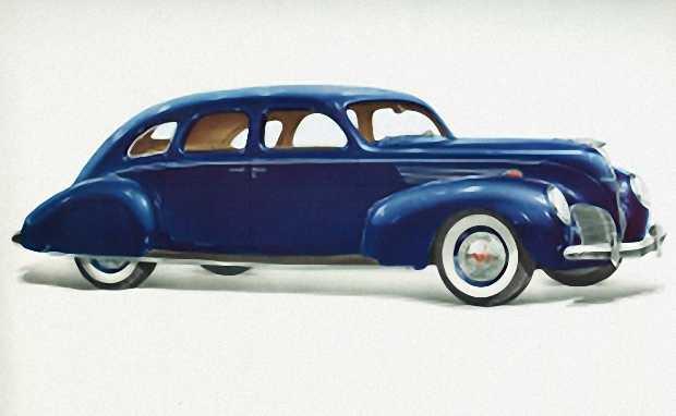 Lincoln Zephyr представлен 2 ноября 1935 г. в качестве модели 1936 года