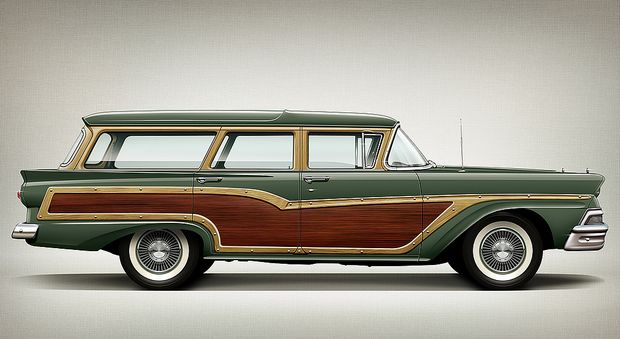 Ford Country Squire Wagon 1958 года