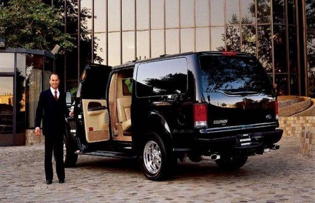 Автомобиль президента компании Ford