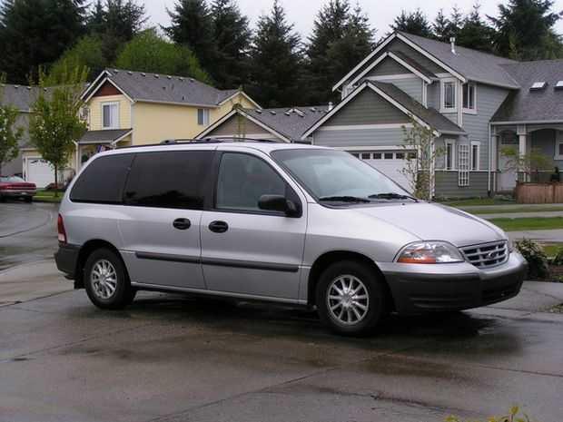 Обновленный Ford Windstar 1999 года