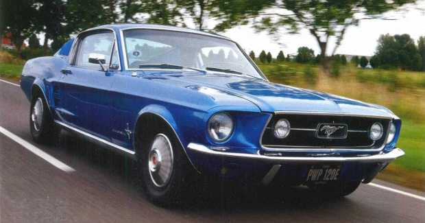 Ford Mustang 1967 года