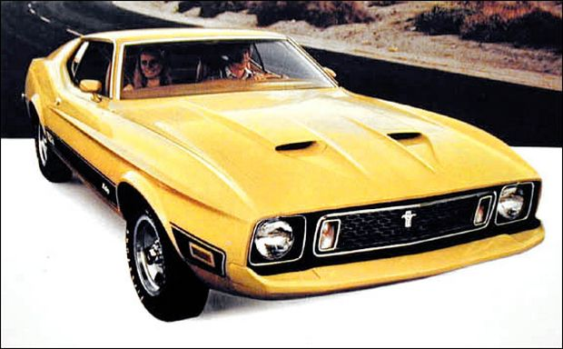 Ford Mustang Mach-I, 1973 год
