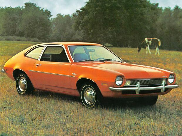 2-х дверный Ford Pinto Sedan 1972 года в кузове 62B