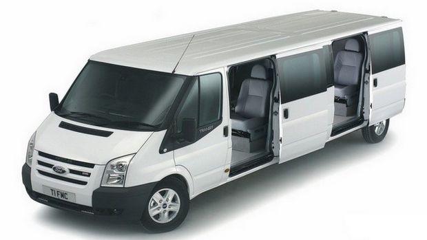 Ford Transit с удлиненной базой