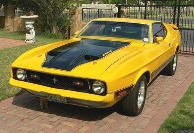 Ford Mustang 1972 года
