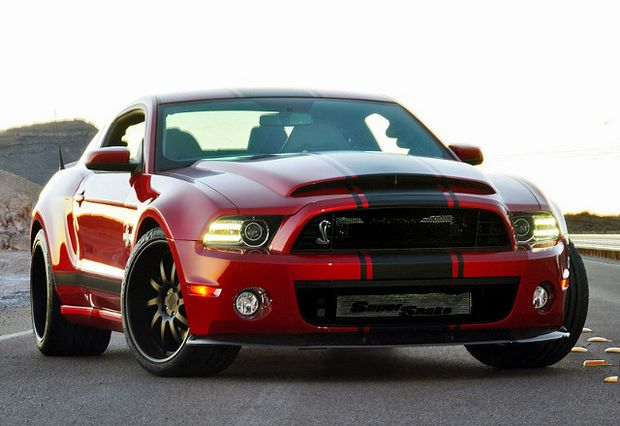 Ford Mustarg Shelby GT500 2013 года