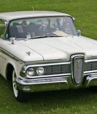 Edsel 1959 модельного года, легко узнаваемая решетке