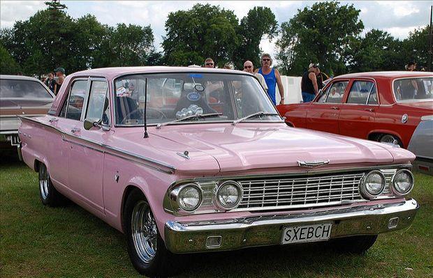 Обновленный Ford Fairlane 500 1962 года