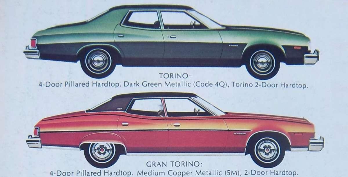Модификации Ford Torino 1975 года