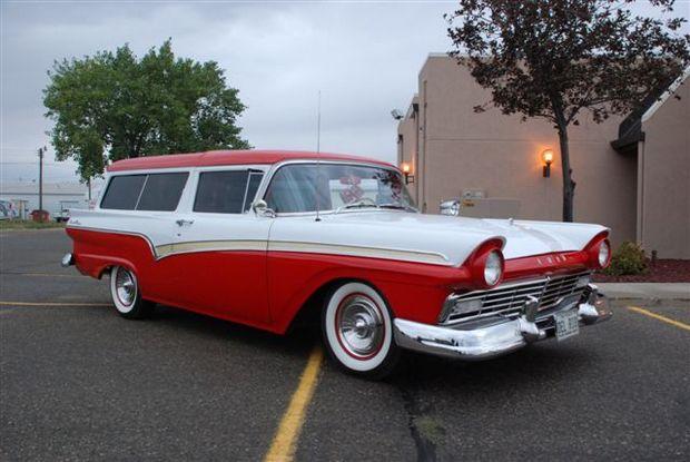 Ford Del Rio 1957 года