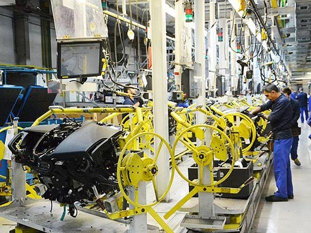 Так выглядит сборочная линия завода Ford