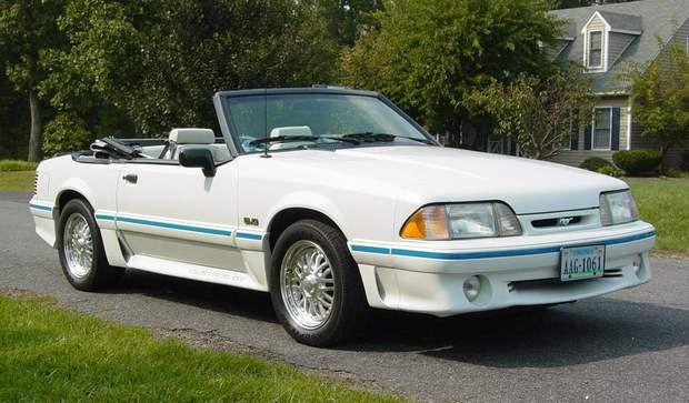 5.0 HO Mustang GT с V8