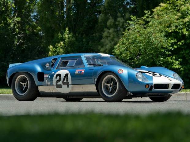 Гоночный автомобиль Lola MkVI GT 1963 года