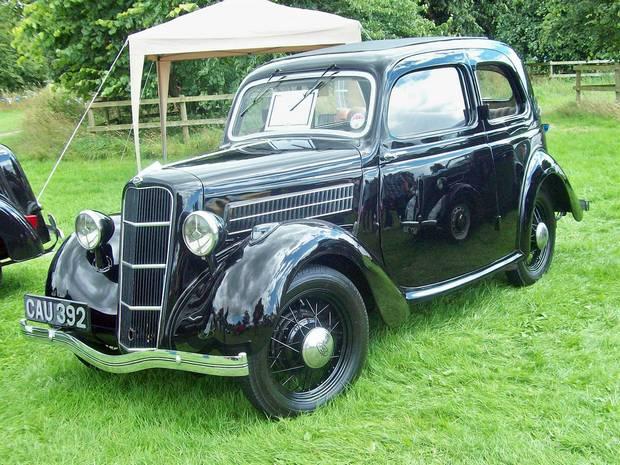 Ford CX Tudor 1936 года