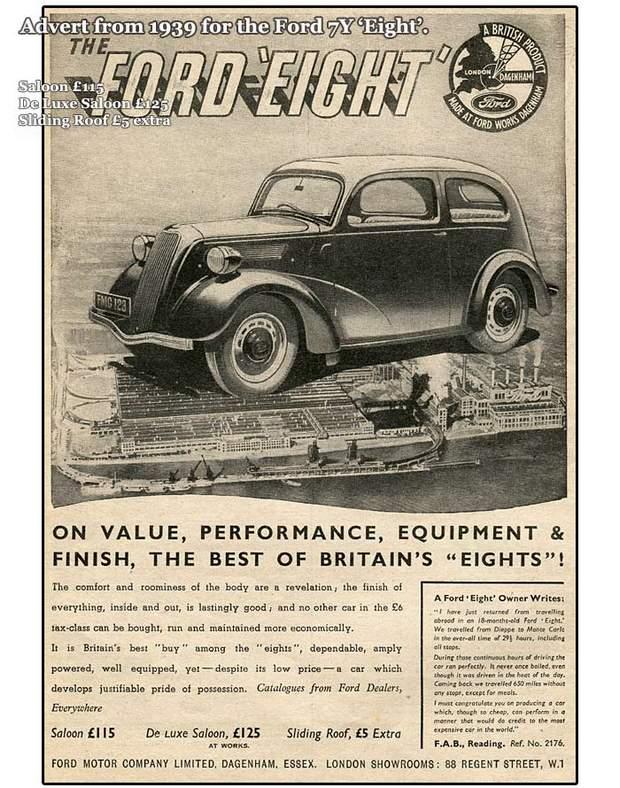Ford-7Y на рекламной листовке