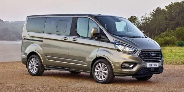 Tourneo Custom соответствует дизайну легковых автомобилей Ford