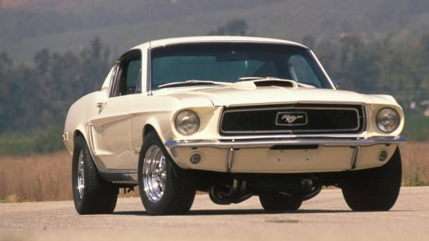 Ford Mustang Shelby Cobra Jet 1968 года