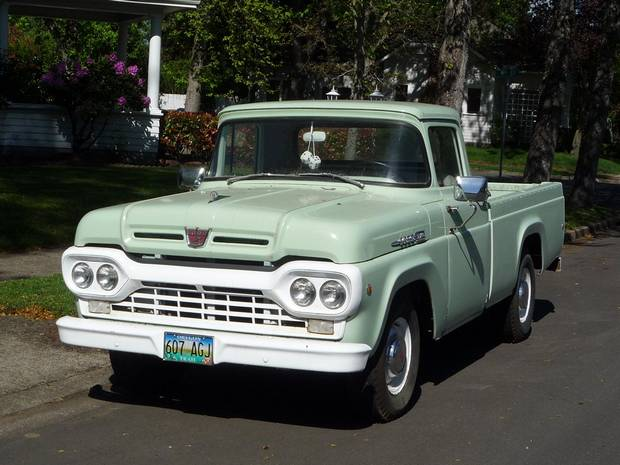 Ford F-250 1957 года