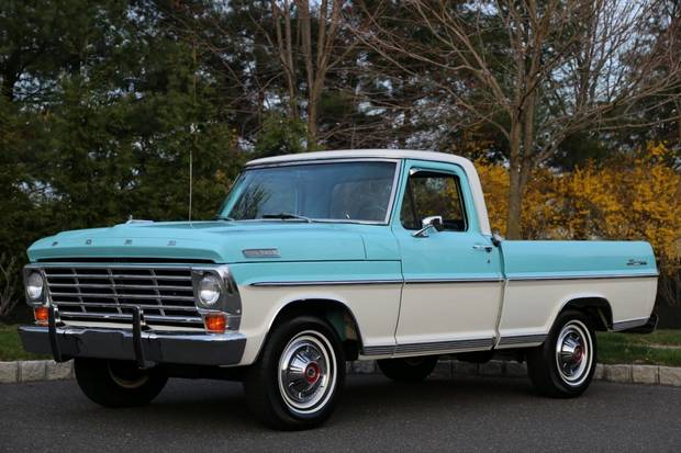 Ford F-100 1967 года