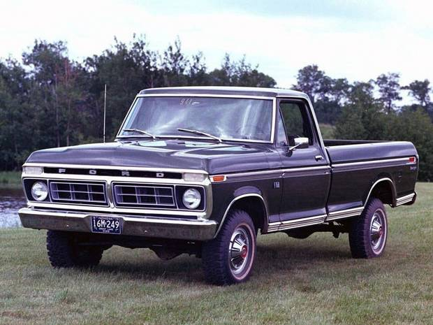 Ford F-100 1973 года