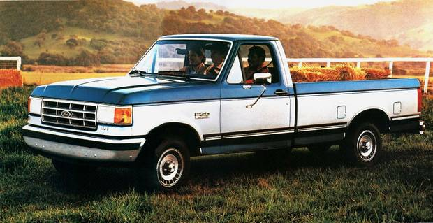 Ford F-150 1987 года