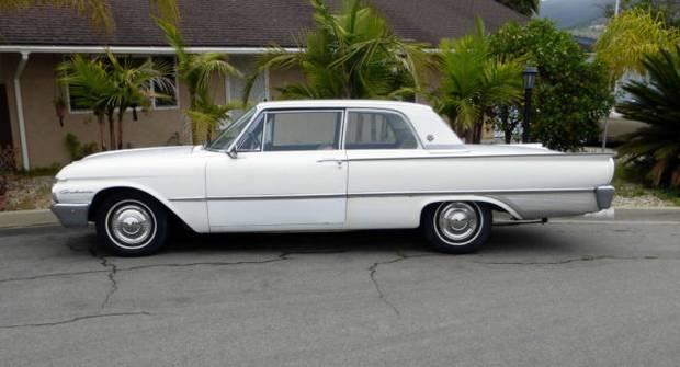 Ford Galaxie Club Victoria, 1961 года