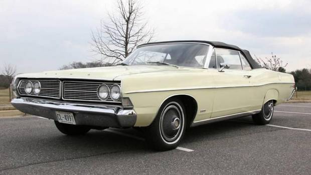 Ford Galaxie 500 Convertible 1968 года