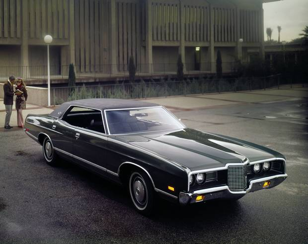 Ford LTD Brougham Hardtop 1971 года