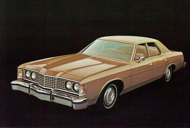 Ford Galaxie 500 1973 года