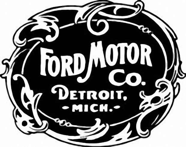 Логотип компании Ford Motor в 1903 году