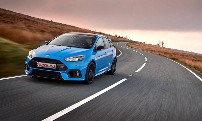 Ford Fiesta серии ST-Line с подвеской для для более динамичной езды