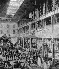Механический участок Detroit Dry Dock Company, г. Детройт, штат Мичиган, США, 1894 г.