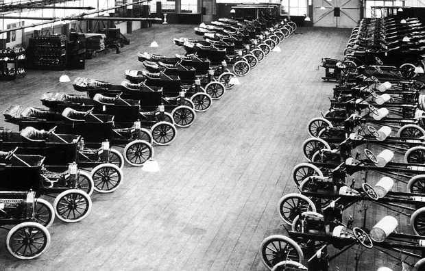 Стандартные автомобили Ford