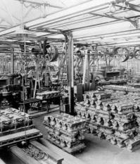Материалы на конвейерах заводов Генри Форда