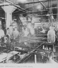 Посменная продолжительность труда на конвейерах Форда