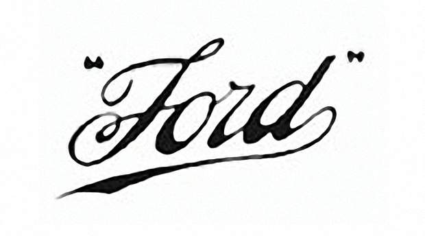 Логотип Ford 1909 года