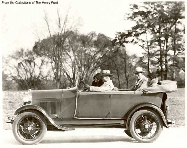 Ford Model A Phaeton, 1928 года
