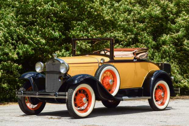 Ford Model A Cabriolet, 1930 года