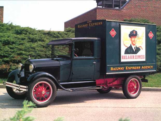 Ford Model AA,1928 года для перевозки грузов