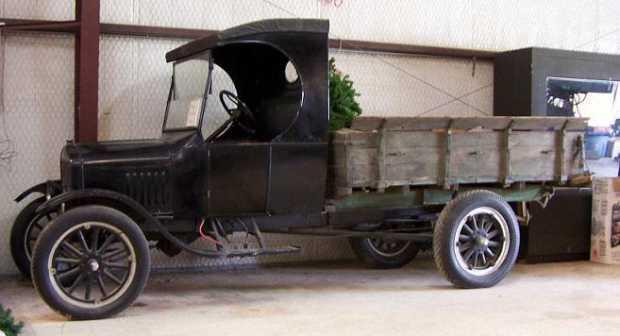 Ford Model TT с кабиной без окон