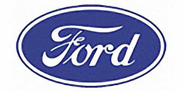 Овальный логотип Ford с начала 1927 года