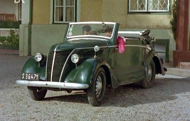 Оригинальный Ford Eifel Roadster 1937 года