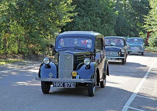 Ford Anglia E04A 1946 года