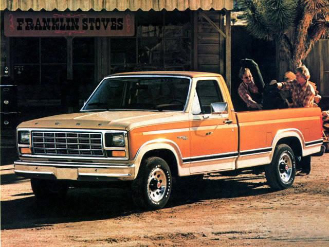 Автомобиль Ford Ranger 1983 года