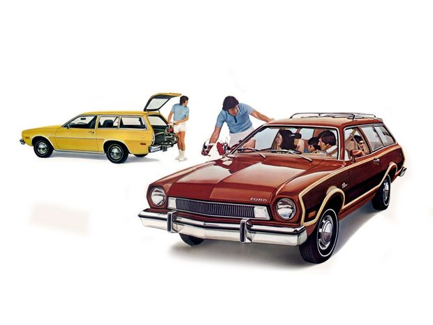 Ford Pinto Wagon & Pinto Squire Wagon 1975 года