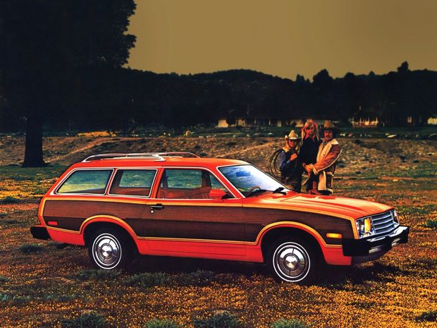 Ford Pinto Squire Wagon 1980 года, кузов 73B