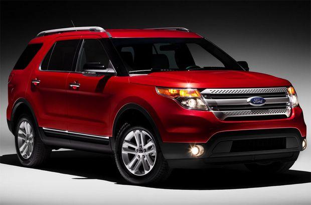 Ford Explorer 2011 года