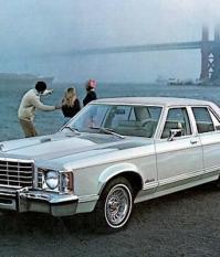 Ford Granada 1977 года