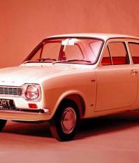 Седан Форд Эскорт первого поколения 1968–1975 гг